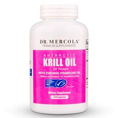 Dr Mercola Antarctic Krill Oil for Women 270 Capsules With Evening Primrose Oil Omega 3 Supplement With EPA DHA GLA Astaxathin Odorless Mercury Free ** Continue to the product at the image link. (This is an affiliate link) Omega 3 Supplements, Supplements For Women, Primrose Oil, Evening Primrose, Krill Oil, Omega 3 Fish Oil, Essential Fatty Acids, Young Living Essential Oils