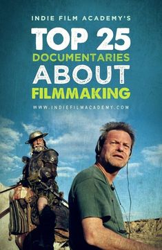 Top 25 Documentaries About Filmmaking I assume I'm like many of you. Obsessed with finding behind-the-scenes documentaries about my favorite movies. For years, filmmaking documentaries have allowed filmmakers to get a fly on the wall insight into how some of their favorite films came together. #guerillafilmmaking