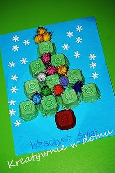 Kara świąteczna/ choinka/Christmas tree   Kreatywnie w domu