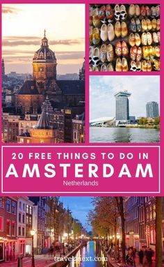 15 Free Things To Do In Amsterdam. Whether you love adventure, budget, luxury or cultural travel, there are a ton of attractions and plenty of free things to do in Amsterdam too. This is one of the reasons Amsterdam is so special. #netherlands #free #holland #europe #thingstodo #amsterdam #traveltips Europe Destinations, Europe Travel Guide, Budget Travel, Free Travel, Travel Abroad, Amsterdam Things To Do In, Visit Amsterdam, Amsterdam Travel, Windmills In Amsterdam