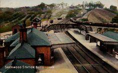 Guatemala Guatemala Accedi al sito per informazioni Brick Companies, Old Train Station, Steam Railway, History Photos, Local History, Train Tracks, Derbyshire, Nottingham, Old Pictures