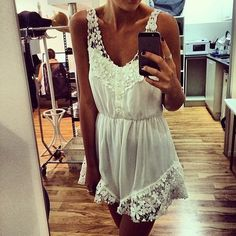 OUTFIT: http://www.glamzelle.com/collections/whats-glam-new-arrivals/products/chic-pure-angel-white-laces-playsuit