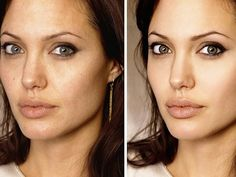 Famosas 'Photoshopeadas' nos ponen los estándares de belleza muy altos (32 fotos)