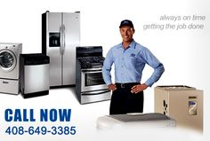 Waking up with a broken appliance is not the right way to start your day. whenev, Call Appliance Repair San Jose CA In Emergency, California Home Repair & Maintenance Services, Services In San Jose Smile Care, Commercial Appliances, Appliance Repair, San Jose, Mens Tops, Service Maintenance, Texas, Window Unit, Free Advice