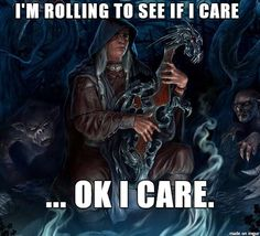 Dungeons & Dragons - Dice rolling means everything