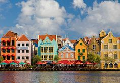 """Curacao is the """"C"""" in the Caribbean's tiny ABC islands: Aruba, Bonaire and Curacao. A trip to the island starts in Willemstad, where the Punda historic district on St. Anna Bay exudes a 17th-century Dutch colonial atmosphere"""