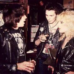 Marky Ramone + Sid Vicious + Nancy