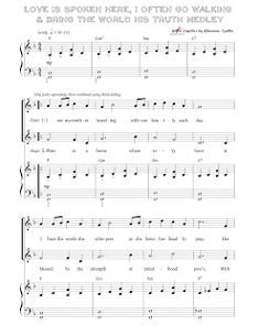 Mother's Day Medley : It consists of: Love Is Spoken Here , I Often Go Walking , & We'll Bring The World His Truth (Army of Helaman) LDS Primary Chorister Primary Songs, Primary Singing Time, Primary Activities, Lds Primary, Primary Lessons, Primary Resources, Primary Colors, Church Music, Lds Church