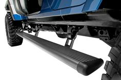 2007-2016 Jeep Wrangler Running Boards - AMP Research 75122-01A - AMP Power Step Running Boards