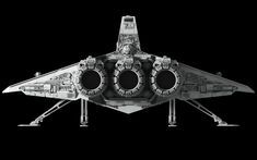 An old model with a new refresh to add a starfighter hangar in the gap.