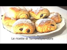 Saccottini al cioccolato - Pain au chocolate