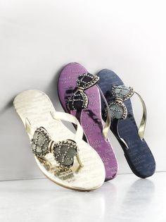 Details matter. Simply Vera Vera Wang #sandals #Kohls