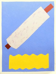 """""""Her Rolling Pin"""" Oil on paper painting by Brooklyn-based artist Kristin Texeira. #UpriseArt"""