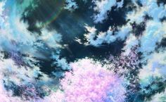 Anime Scenery HD Wallpaper