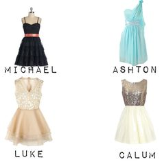 """5 Seconds of Summer preference (His favorite dress on you)"" by vawesome1201 on Polyvore"