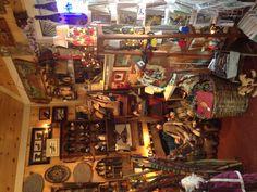 Inside HomeSpun creations gift shop