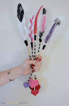 DIY Arrows with Two Thirty~Five Designs