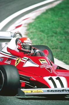 1975 F1 World Champion Niki Lauda on his Ferrari 312T  Click the pic to see how a simple 3 step formula can make you money online!