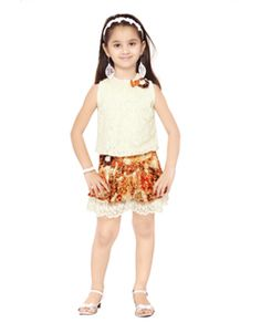 Rang Fashions Top with 3/4th cotton pant