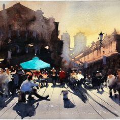 Alvaro Castagnet #watercolorarts