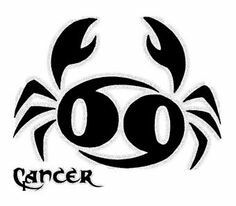 Cancer sign crab