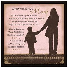 Simple Expressions - Prayer For My Mom Prayers For My Mother, Prayer For Mothers, Mom Prayers, Blessed Mother, Family Prayer, Prayer For My Son, Prayer For Peace, Marriage Prayer, Prayers For Healing