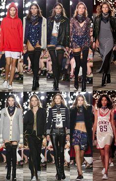 #NYFW: Tommy Hilfiger e a coleção da Gigi Hadid - Garotas Estúpidas - Garotas Estúpidas