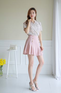 Korean Women`s Fashion Shopping Mall, Styleonme. Two Piece Long Dress, Two Piece Pants Set, Two Piece Outfit, Skirt And Top Set, Skirt Set, Korean Fashion Dress, Fashion Dresses, Asian Woman, Asian Girl