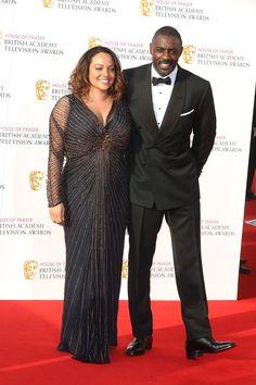Idris Elba Hits Red Carpet with Naiyana Garth After Rumored Split