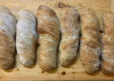 Ciabatta, Food And Drink, Bread, Kitchen, Baking Center, Cooking, Kitchens, Home Kitchens, Breads