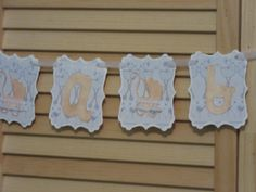 Its A Boy Baby Shower Banner Hand Made Baby Shower by ItzMyParty, $18.50