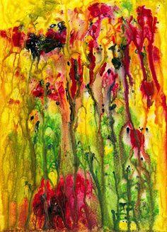 Summer Glow - Painting by Sylvia Sotuyo