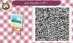 animalcrossing-suko:Mt. Fuji! japanese style calender.