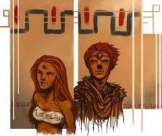 Young Ganon and Nabooru art