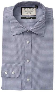e2be0813ec3a Hobson Texture Slim Fit Dress Shirt. Thomas PinkSlim Fit Dress ShirtsNordstrom  RackSlim ...