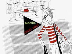 Quand tu oublies ton sac à main en plein Paris, tu es dans la MERDE!! #lesbourdesdesandra