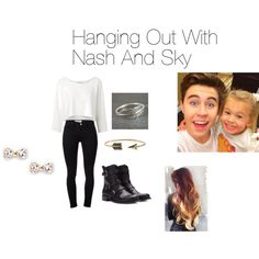 """""""Hanging Out With Nash And Sky"""" by kj1974 on Polyvore"""