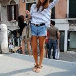 10 Ways To Style Cut Off Shorts | theglitterguide.com