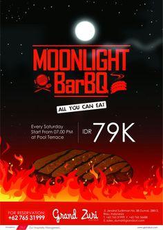 Moonlight Barbeque Every Saturday Night
