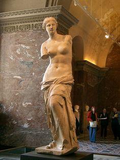 Venus de Milo, Musee du Louvre, Paris, France
