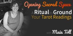 This week's blog is from the gorgeous Maia Toll, an earth-based ritualist and Founder of Witch Camp. Maia and I met over a year ago online and now we are part of a small, intimate mastermind who meet every week to talk about our heart-based businesses and support one another. Today, Maia shares her favourite rituals for preparing for a Tarot reading.