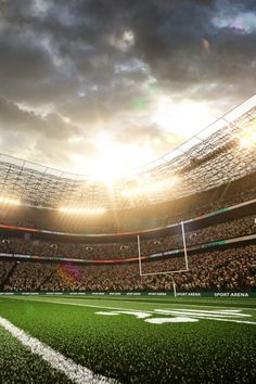 View Stock Photo of American Football Stadium Arena Vertical. Background Images Wallpapers, Sports Wallpapers, American Football, Football Stadion, Football Wallpaper Iphone, Stadium Wallpaper, Football Background, Fall Dates, Sports Graphic Design