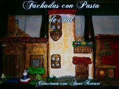 Pasta de Sal Fachadas。・:*:・゚☆/Salt Dough facades - YouTube