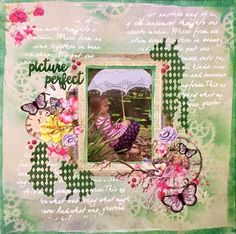 A Layout by Kelly-ann Oosterbeek made using 49 & Market Papers. www.kellyanno.com