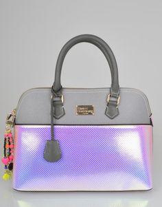Paul's Boutique Maisy Hologram Bag - Silver