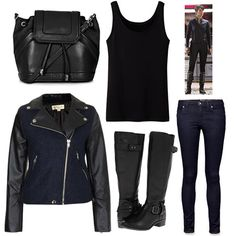 maria hill the avengers Cute Spring Outfits, Cool Outfits, Geek Chic Fashion, Fashion Ideas, Superhero Fashion, Avengers Outfits, Fandom Outfits, Fandom Fashion, Cosplay Outfits