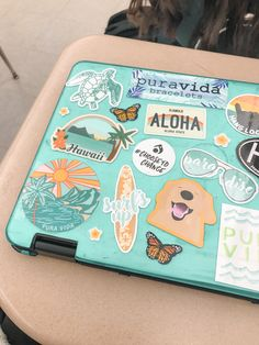 """☆☆ """"i redecorated my school chrome book with a bunch of my new sticker designs! lmk what you think! 🤩💫🦋(and tap to shop if ya want🧡) Macbook Air Stickers, Cute Laptop Stickers, Mac Stickers, Made Design, Zoom Iphone, Homemade Stickers, Snapchat Stickers, New Sticker, Macbook Case"""