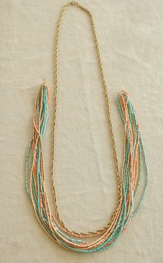 DIY Seed Bead Necklace » For the Love of... For the Love of…