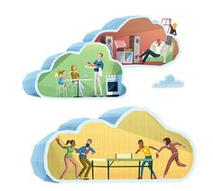 Business Mail and Marketing Services  Illustration by Steve Scott  http://www.stevescott.com.au/
