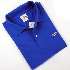 ralph lauren polo outlet Lacoste Short Sleeve Slim Fit Pique Polo Shirt  Steel Blue http  463bb9f882bb